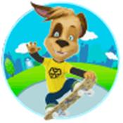 滑板小狗(Barboskins Skate)