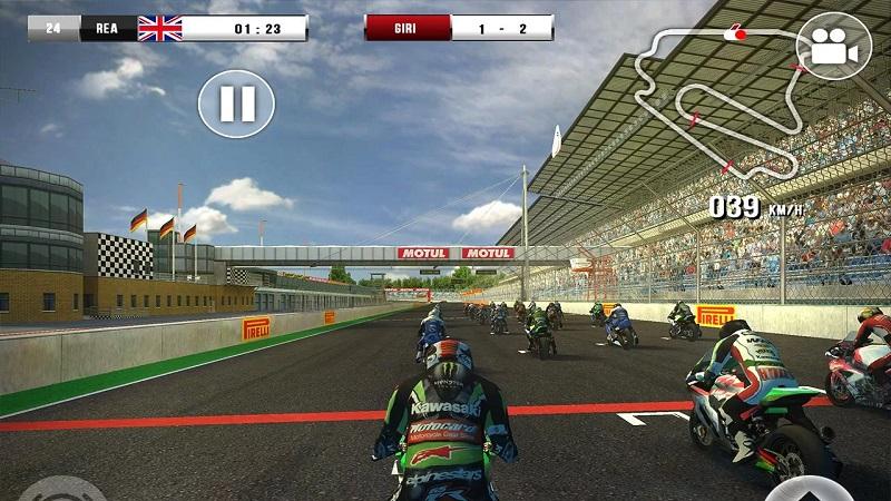 SBK官方手机游戏截图3