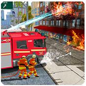 消防车紧急救援图标