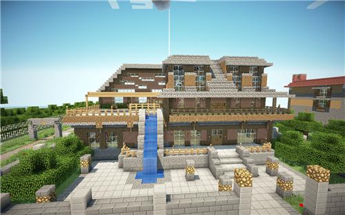 我的世界房子设计图