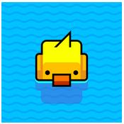 小鴨子過河圖標