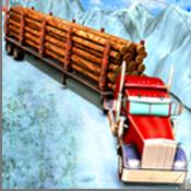 雪地运输车图标