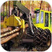 伐木工人模拟图标