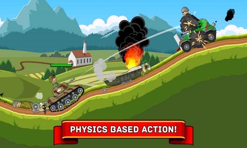 钢铁坦克大战游戏截图