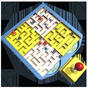玩具迷宫图标
