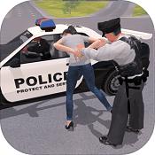 警察追捕图标