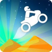 沙丘自行车图标