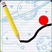 物理引力降落图标