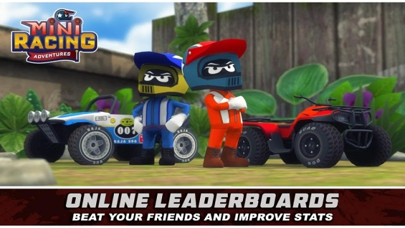 迷你赛车冒险游戏截图
