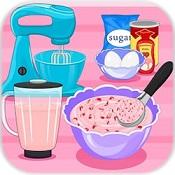 草莓冰淇淋三明治图标
