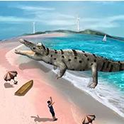鳄鱼模拟器2018图标