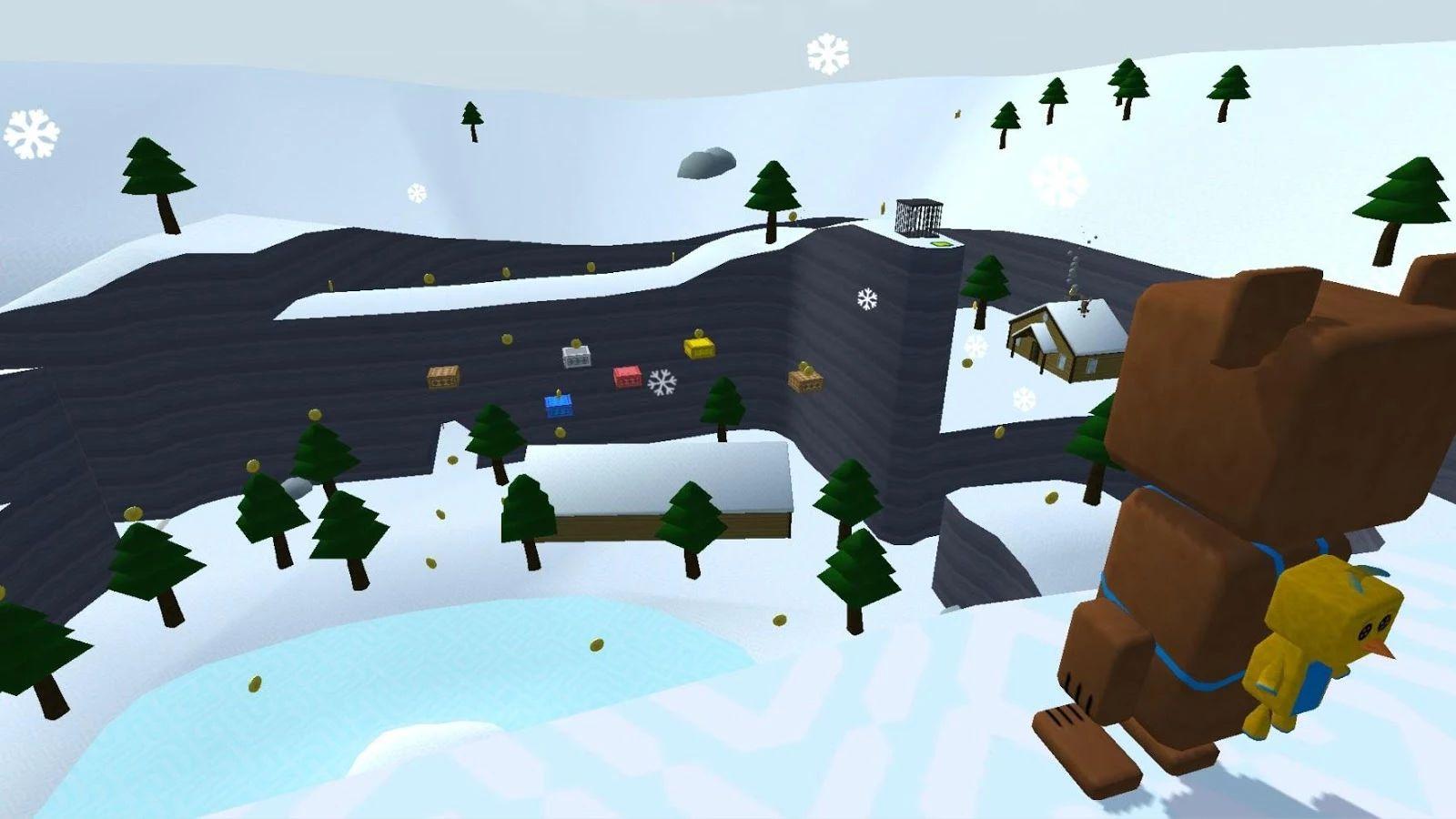 超级熊的冒险游戏截图