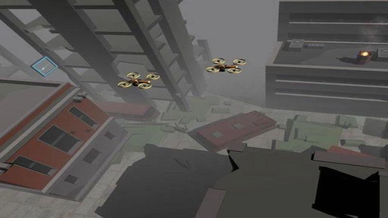 无人机飞行截图1