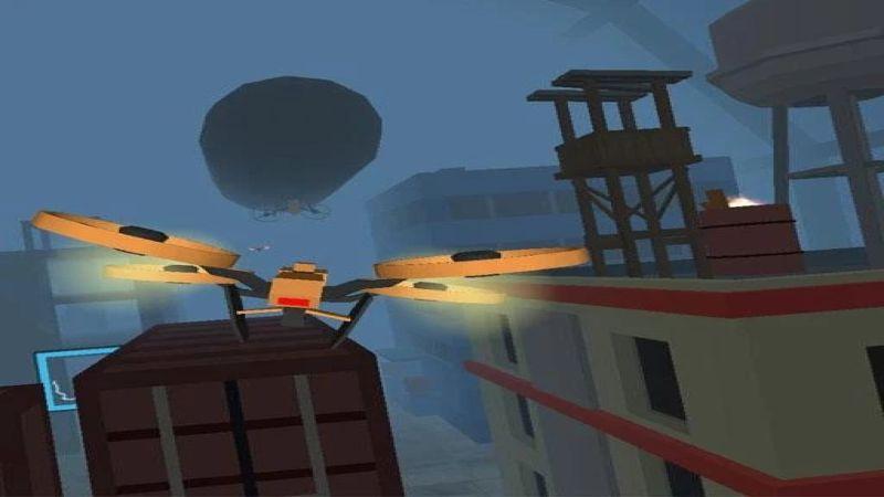 无人机飞行截图2