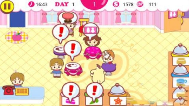 Hello Kitty咖啡厅游戏截图