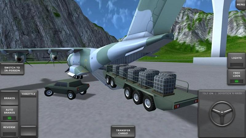 飞行模拟器3D游戏截图