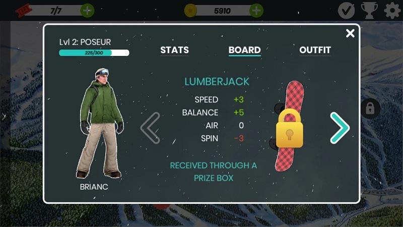 滑雪板盛宴:阿斯彭游戏截图