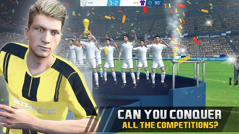 足球明星联赛2017游戏截图