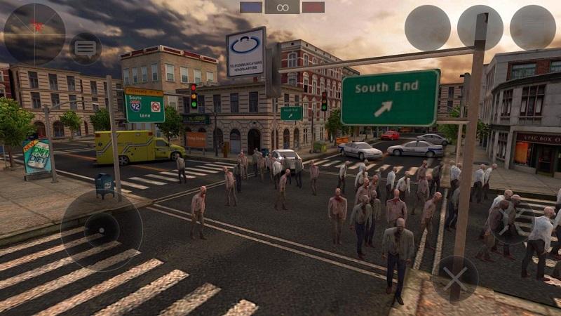 僵尸作战模拟器游戏截图