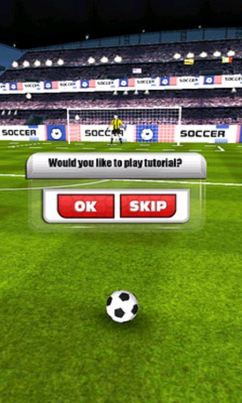 欧冠足球游戏截图