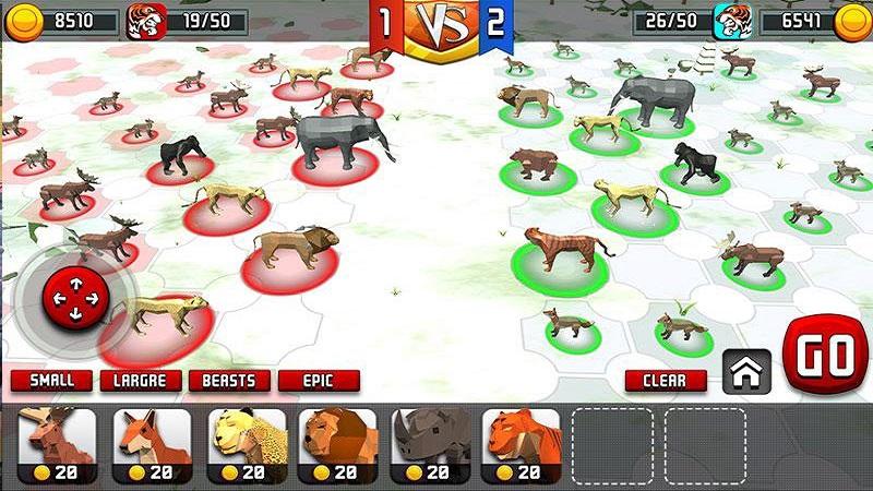 动物王国战斗模拟器3D截图2