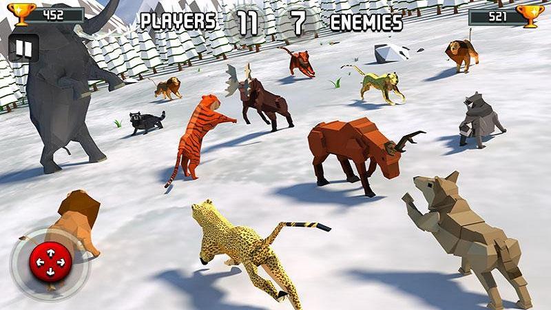 动物王国战斗模拟器3D截图3