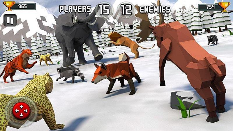 动物王国战斗模拟器3D截图4
