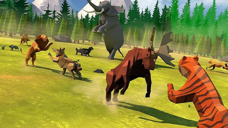 动物王国战斗模拟器3D截图5