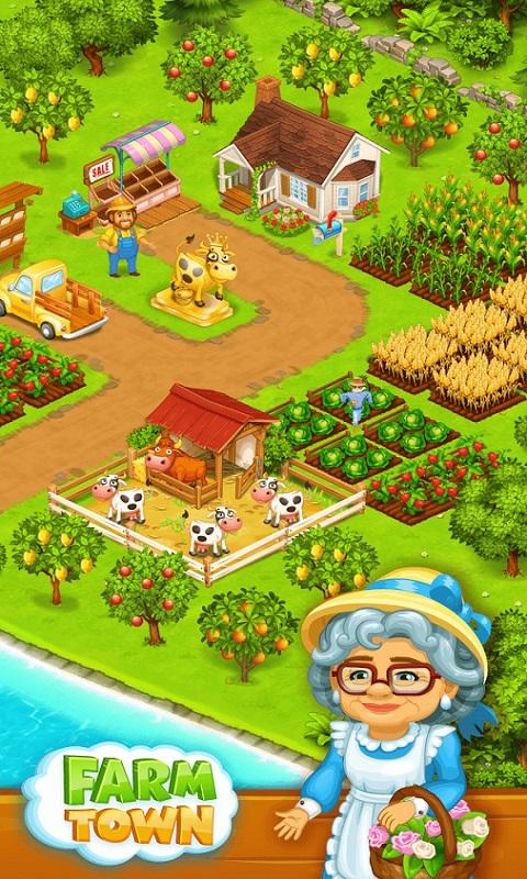农场小镇游戏截图