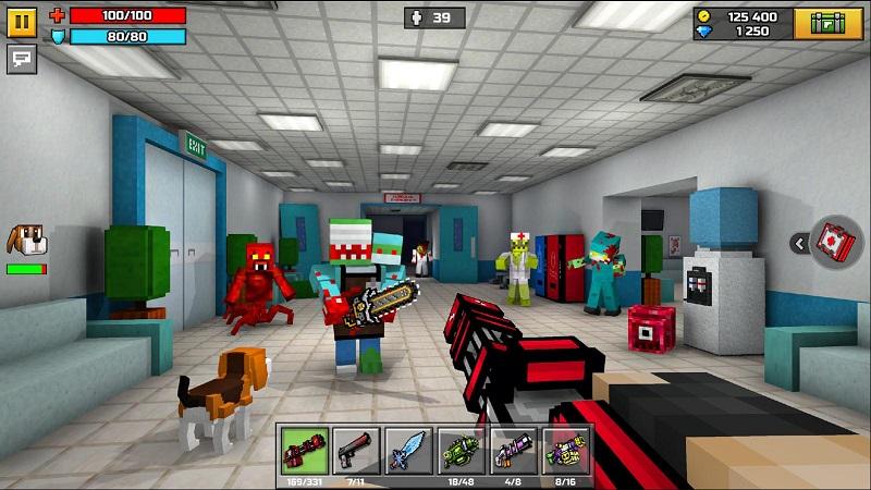 像素射击3D游戏截图