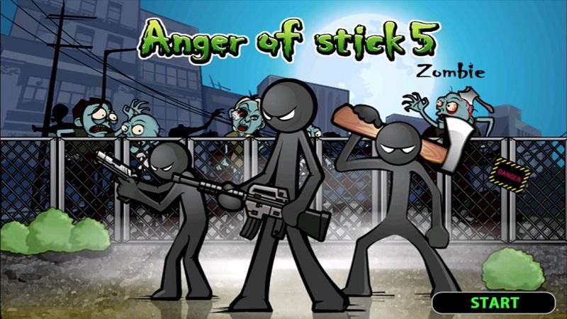 愤怒的火柴人5游戏截图