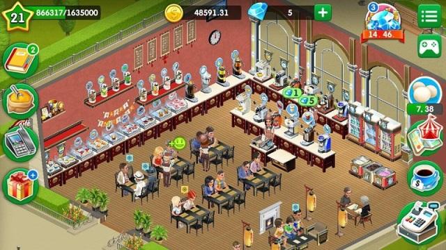 我的咖啡馆游戏截图