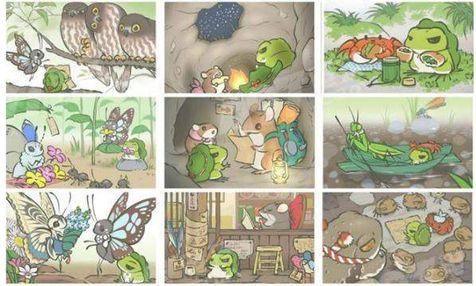 旅行青蛙与松鼠的合照获得方法介绍