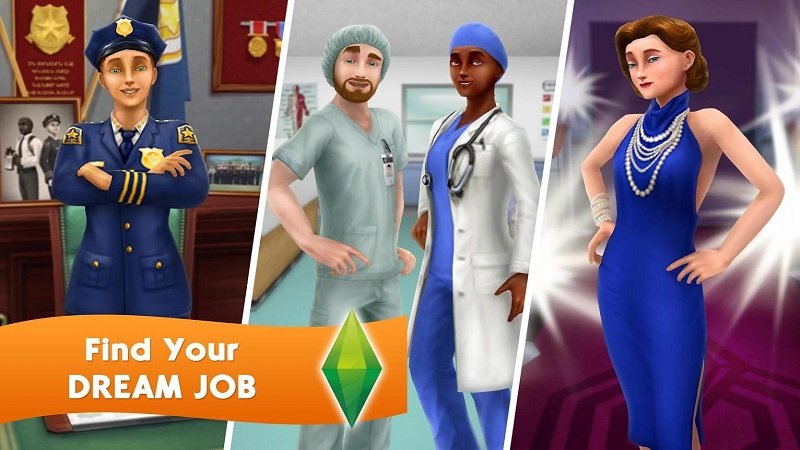模拟人生游戏截图
