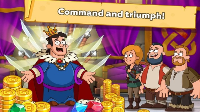 喧嚣的城堡:幻想王国游戏截图