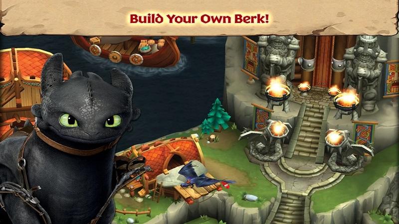 驯龙高手:博克岛的崛起游戏截图