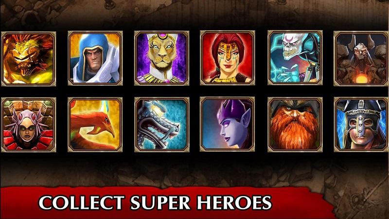 英雄传说游戏截图