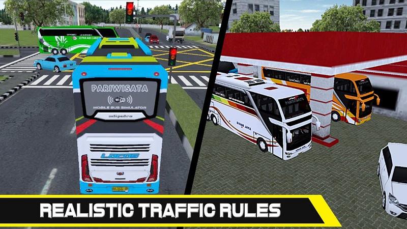巴士模拟器截图3