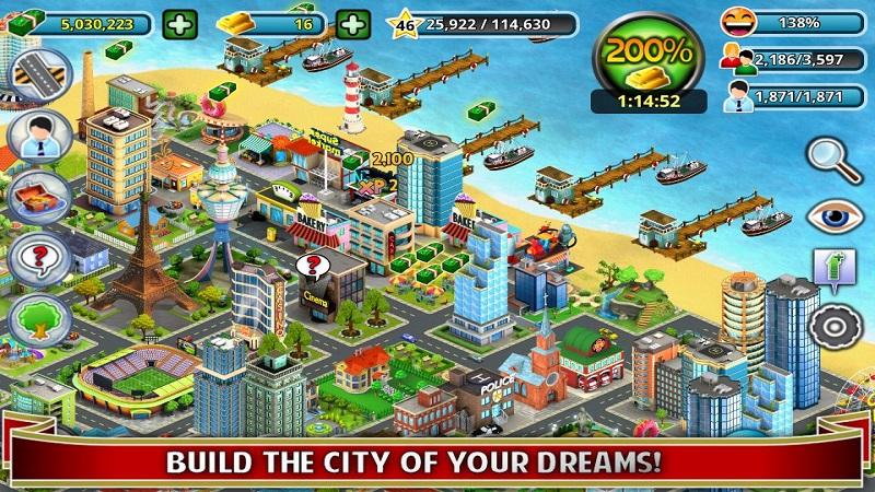岛屿城市截图1