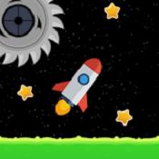 有弹性的火箭图标