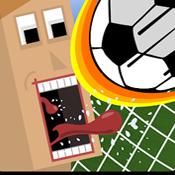踢足球比赛图标