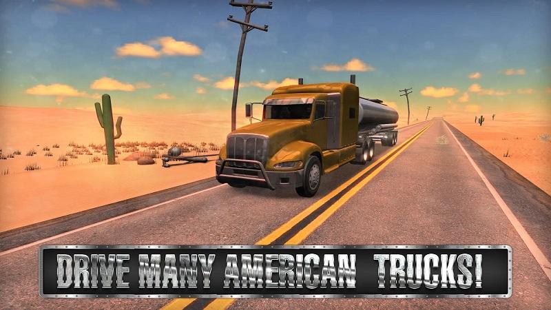 美国卡车模拟器游戏截图