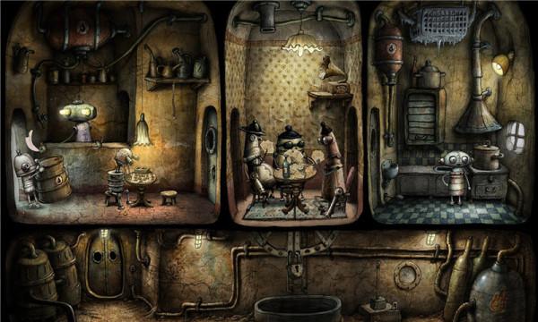 机械迷城安卓版游戏截图