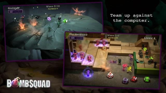 炸弹小分队游戏截图