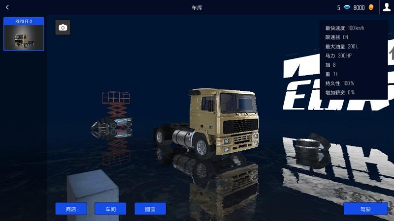 欧洲卡车模拟器手机版游戏截图