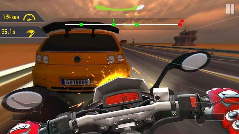 公路摩托骑士安卓版游戏截图