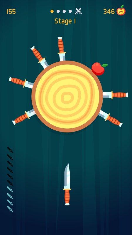 飞刀挑战破解版游戏截图