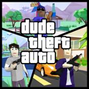 Dude Theft Auto开放世界沙盒模拟器图标