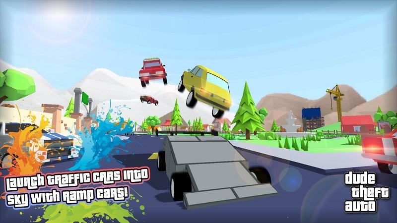 Dude Theft Auto开放世界沙盒模拟器截图3