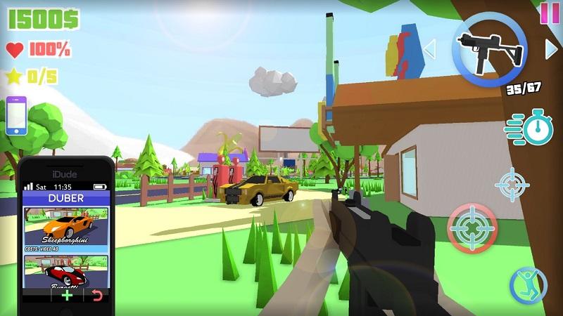 Dude Theft Auto开放世界沙盒模拟器截图7